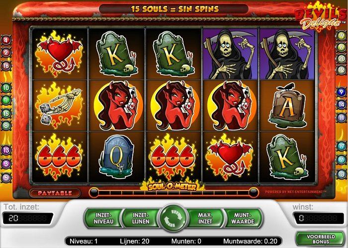 Devils Delight casino gokkast