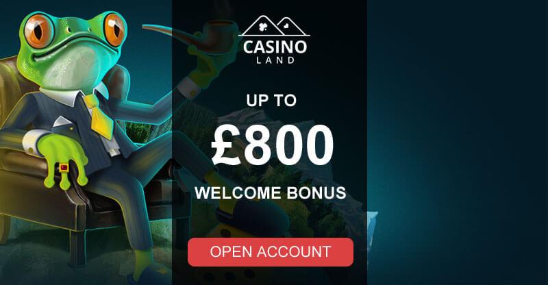 Casino Land Banner